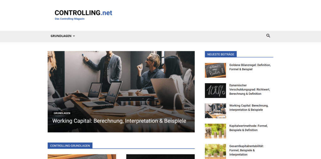 Controlling-Magazin: Controlling.net