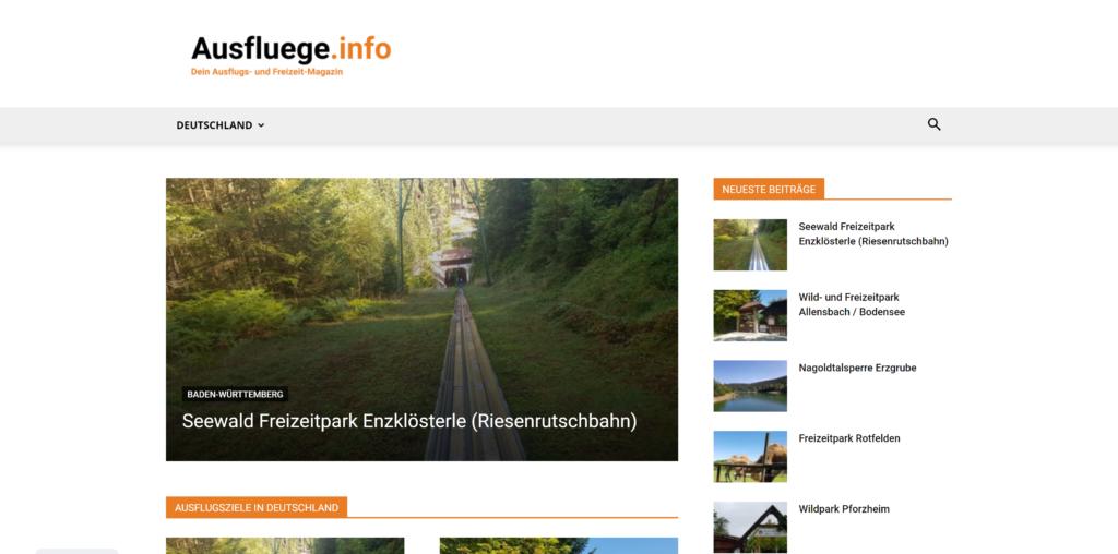 Ausflugs- & Freizeit-Magazin: Ausfluege.info