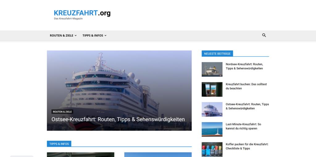 Kreuzfahrt-Magazin: Kreuzfahrt.org