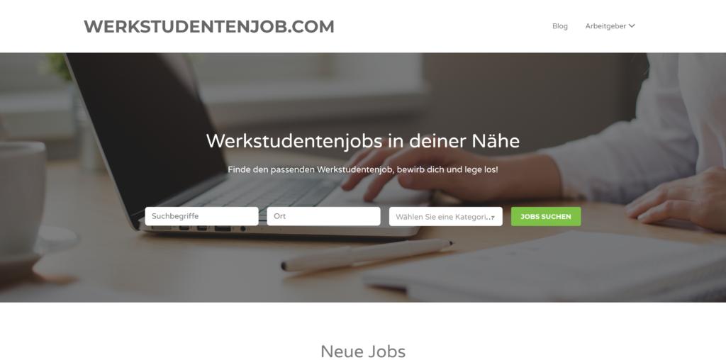 Werkstudenten-Magazin & -Jobbörse: Werkstudentenjob.com
