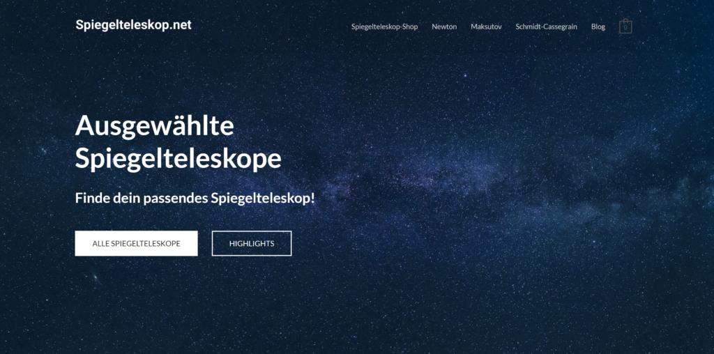 Spiegelteleskop.net: Spiegelteleskope und Teleskop-Blog
